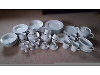80 Piece Marks and Spencer/M&S Maxim China/Crockery Set - Dishwasher/Microwave Safe