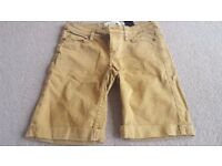 H&M Womens Denim Shorts 'as new' size 8
