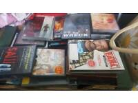 100+ DVDs and 10 DVD boxsets