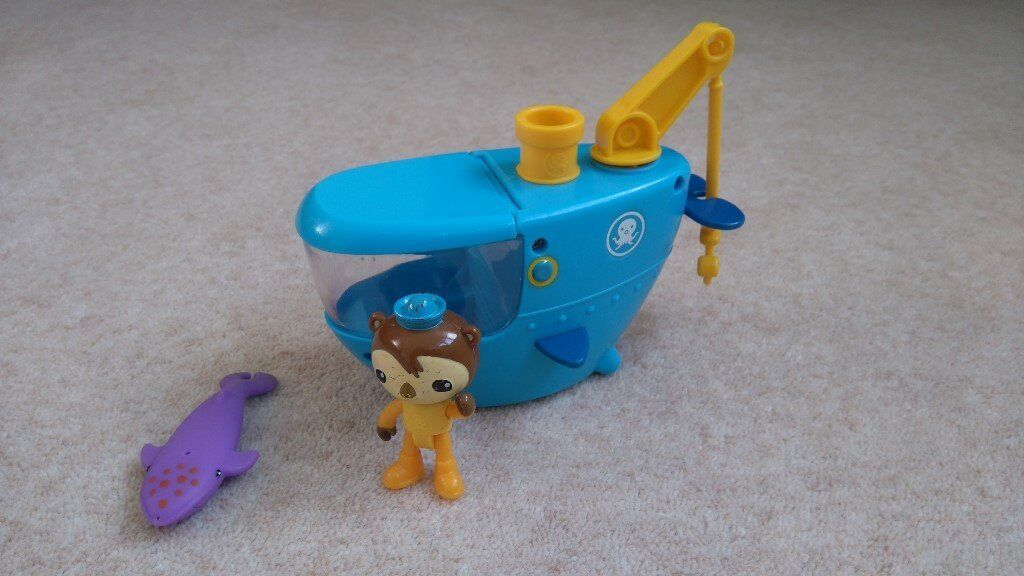 Octonauts Gup-C Shellington and Whale Set