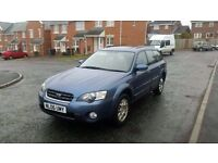 2006 SUBARU OUTBACK 2.5 4X4 FULL SERVICE HISTORY 1 OWNER LEATHER INTERIOR