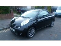 NISSAN MICRA (SPORT) CONVERTIBLE - 06-REG - 2006 (NEW SHAPE) 2 DOOR - 1.6 LITRE - £1495