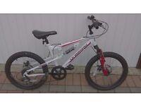 Muddy Fox full suspension geared bike