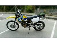 Husqvarna te410e trail bike