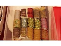 ***BARGAIN*** BOLLYWOOD ETHINIC PAKISTANI INDIAN BANGLE 17 SETS FOR SALE