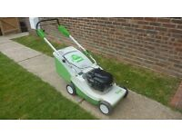 Viking (stihl) german made large professional 21' cut self propelled mower £1000 new