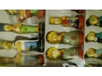Simpsons chess set.