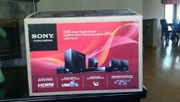 Sony DVD Home Theatre System DAV-TZ140 and head phones