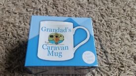 NEW NEVER OPENED Grandad's Caravan Mug still in box