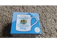 NEW NEVER OPENED Grandad's Caravan Mug still in box