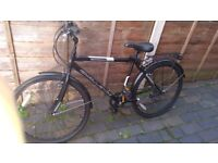 bike men's with £10 heavy duty bike lock for free: bike nearly new