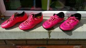 Boys Nike Football Trainers and Boots Size 3
