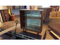 Glass mirror unit