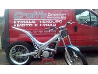 2004 Sherco 250 trials bike px poss trials Enduro motocross road. Delivery