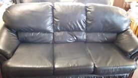 Three Piece Suite - 3 Seat Sofa & 2 Chairs