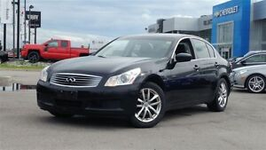 2009 Infiniti G37x AWD, NAV, LEATHER, NO ACCIDENT