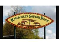 Family ticket Knowsley safari park