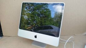 "APPLE IMAC POWERFUL 2.8GHZ 500GB - 4GB CORE 2 DUO 24"" MAC OS X EL CAPITAN DVDRW"
