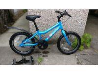 Child's bike Ridgeback MX16 - good condition