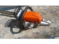 Stihl ms251c chainsaw easy start