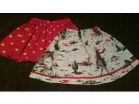 Cath kidston fabric handmade 1.5-3.5 skirt