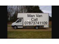 Man & van 24 hour removals service