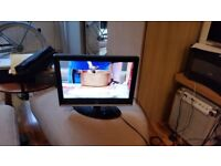 19 inch logik lcd tv no remote perfect as spare tv for kitchen den etc £15
