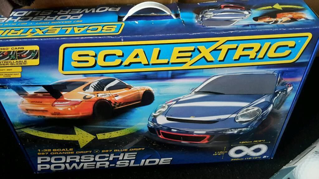 Scalextric Porsche power slide