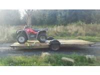 Trailer chassis transporter