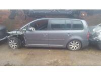 Volkswagen Touran 2005 1.9 Diesel For Breaking - CALL NOW!!!