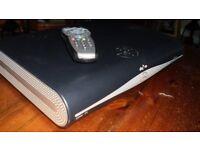 Sky HD Plus DRX780UK Satellite box and Remote.