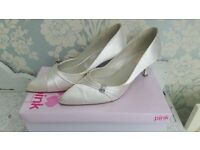 Pink Paradox London Bridal Shoes Size 7 (40)