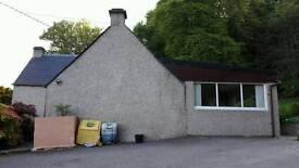 3 bedroom detached cottage with large garden