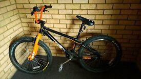 "X-Rated Exile Dirt-Jump bike 24"" Single gear"
