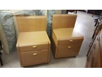 Pair Bedside Cabinets £20 For Pair