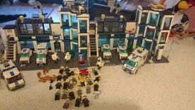 Huge Lego Police Bundle - 26 figures, Dogs, Cars, Helicopters etc