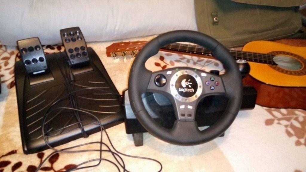 Steering wheel Logitech driving force pro