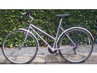 Claud Butler Odyssey Ladies Vintage Retro Hybrid Bike 18 Inch Frame 21 Speed Excellent Condition