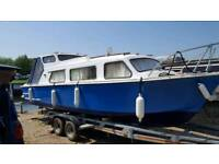 25ft cabin cruiser
