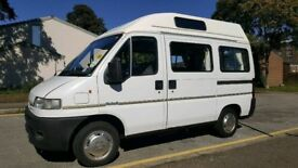 LEZ COMPLIANT Peugeot boxer campervan by country campers