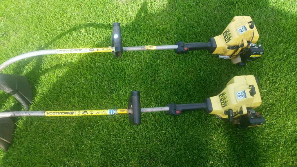 Mc Culloch Strimmers for spares or repair
