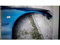 Lexus is200 blue 8n8 driver wing fender 98-05 breaking spares can post is 200 is300