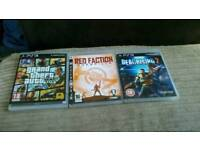 3 ps3 games for swaps