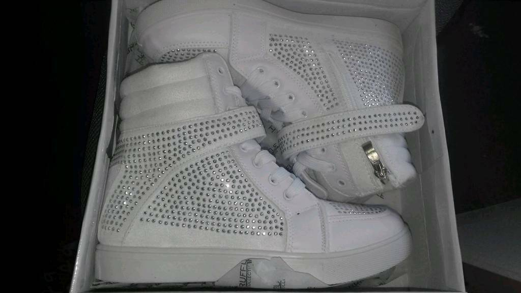 Diamante High Top Trainers