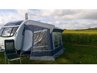 Porch awning for caravan - immaculate condition
