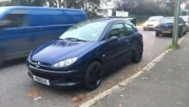 PEUGEOT 206, 1.4, 90k Miles, MOT 29th April