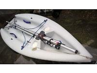 Laser Pico Sailing Dinghy + Combination Launch / Road Trailer