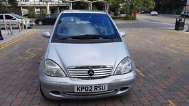 Mercedes Benz A 170 Diesel automatic HPI CLEAR part service history