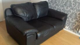 Leather 2 seater sofa 100 or nearsest offer