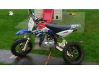 Pitbike 110cc automatic plus spares £350ono the lot